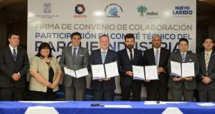 Firma de Convenio Parque Industrial (1)