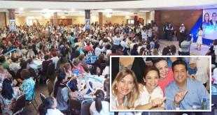 Celebran Vázquez Mota y Cabeza de Vaca a madres en su día
