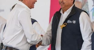 RECONOCE GOBERNADOR TRABAJO DEL ALCALDE ENRIQUE RIVAS (1)